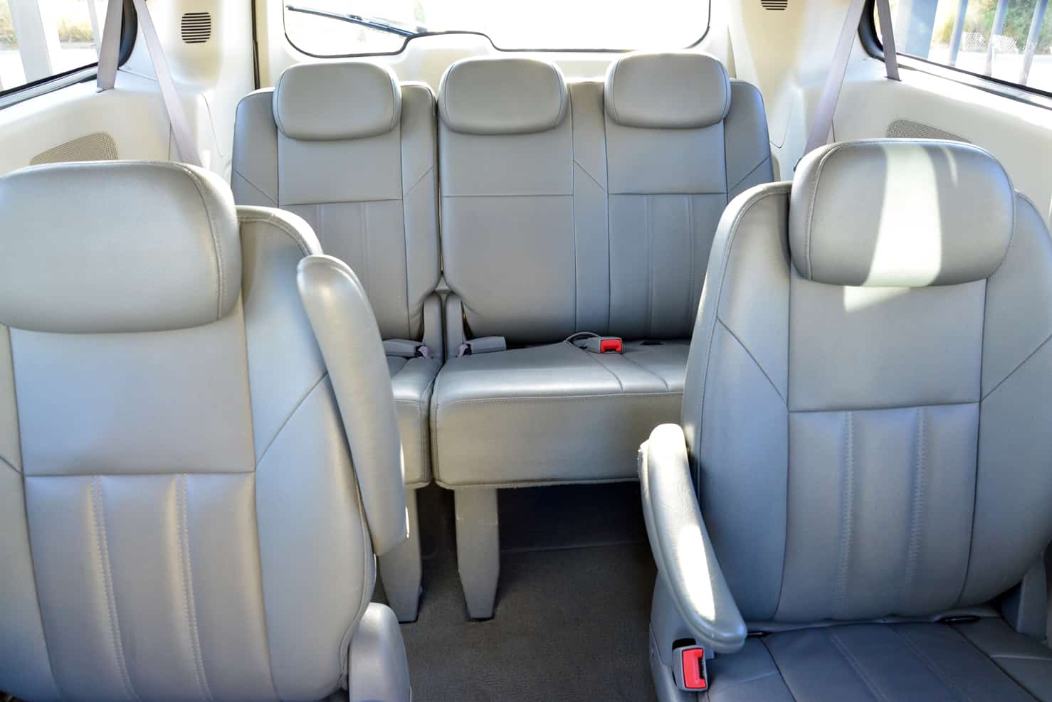 Chrysler Town & Country Family Van Interior • BBB Rent a Car Los Cabos