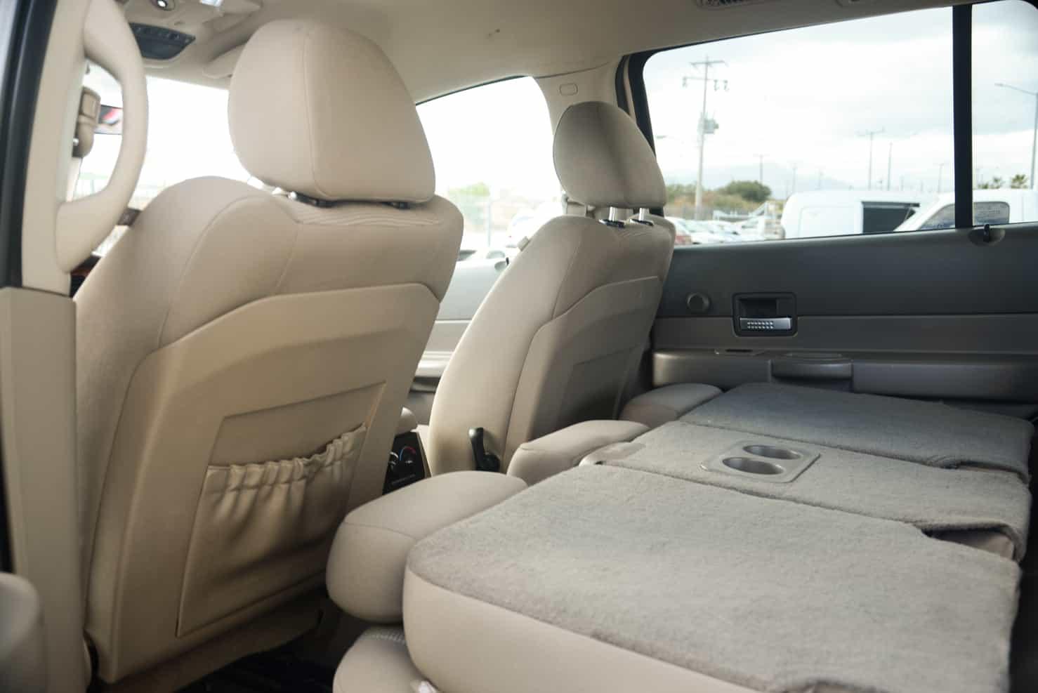2nd seat folds down | Dodge Durango