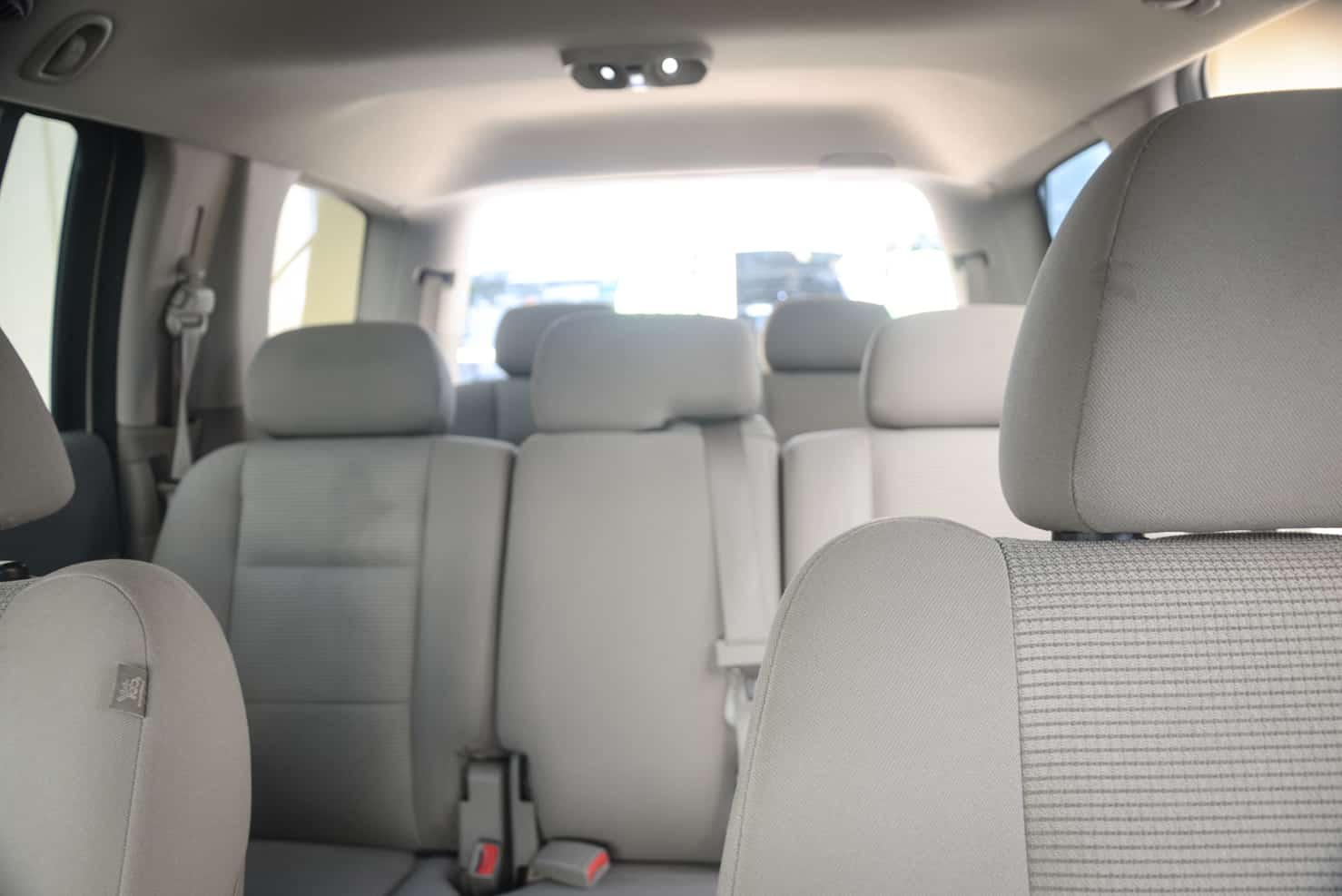 All of our Durangos have cloth interiors.