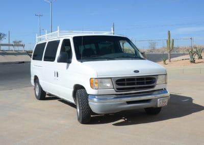 Ford E150 Activity/Surf Van (7 Passengers)