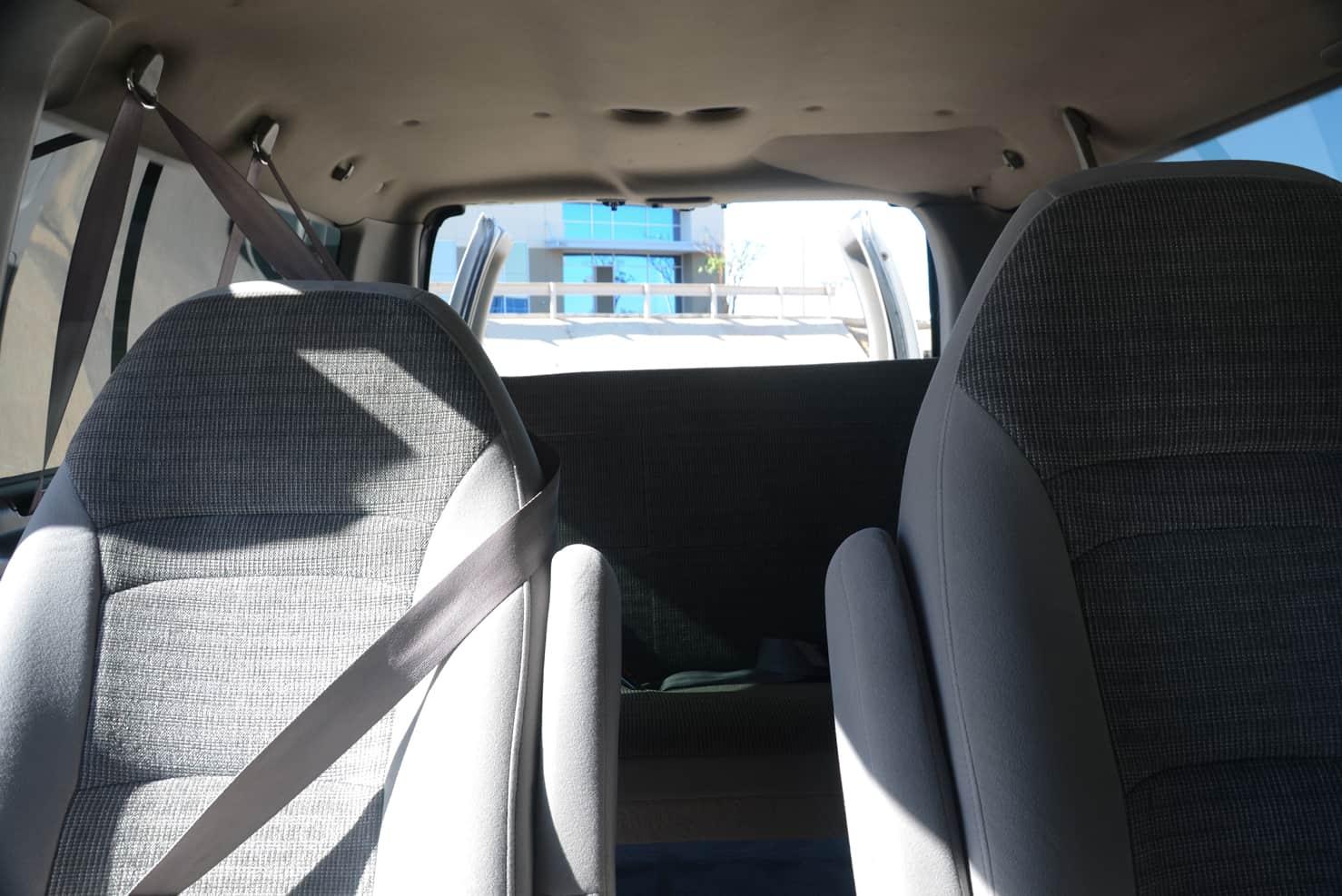 Ford Van E150 Interior • Surf Van | Los Cabos, Mexico