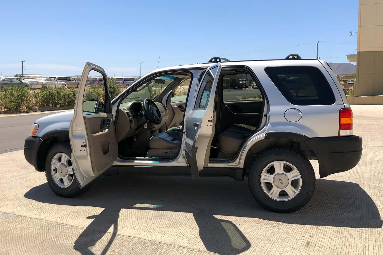 Ford Escape SUV   BBB Rent a Car Los Cabos