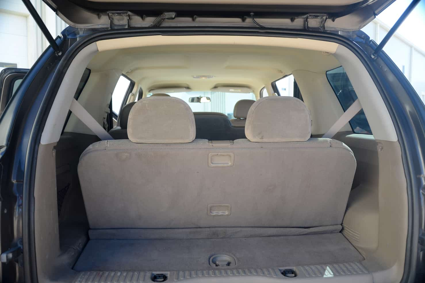 3rd seat up + room for luggage | Ford Explorer