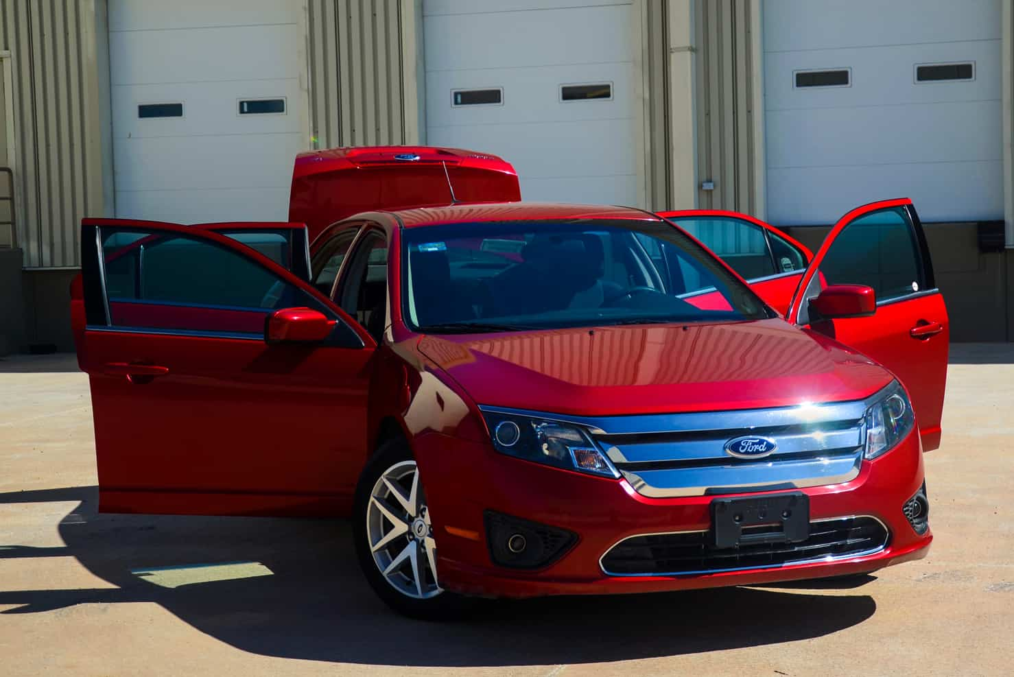 Ford Fusion Mid-Sized Sedan | BBB Rent a Car Los Cabos