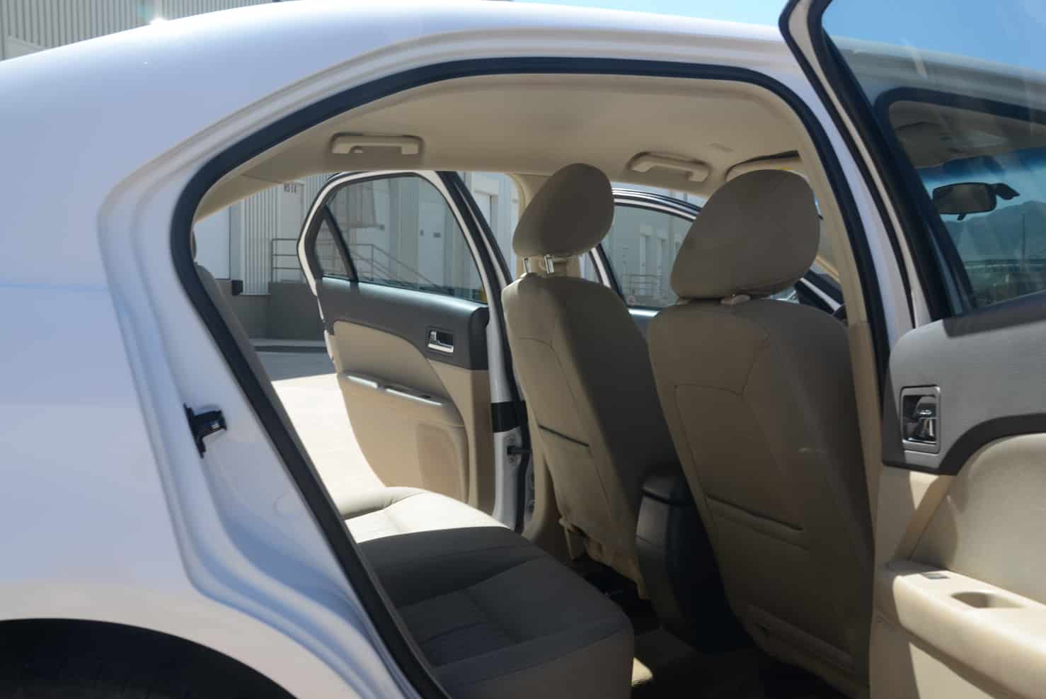 Ford Fusion Mid-Sized Sedan Interior
