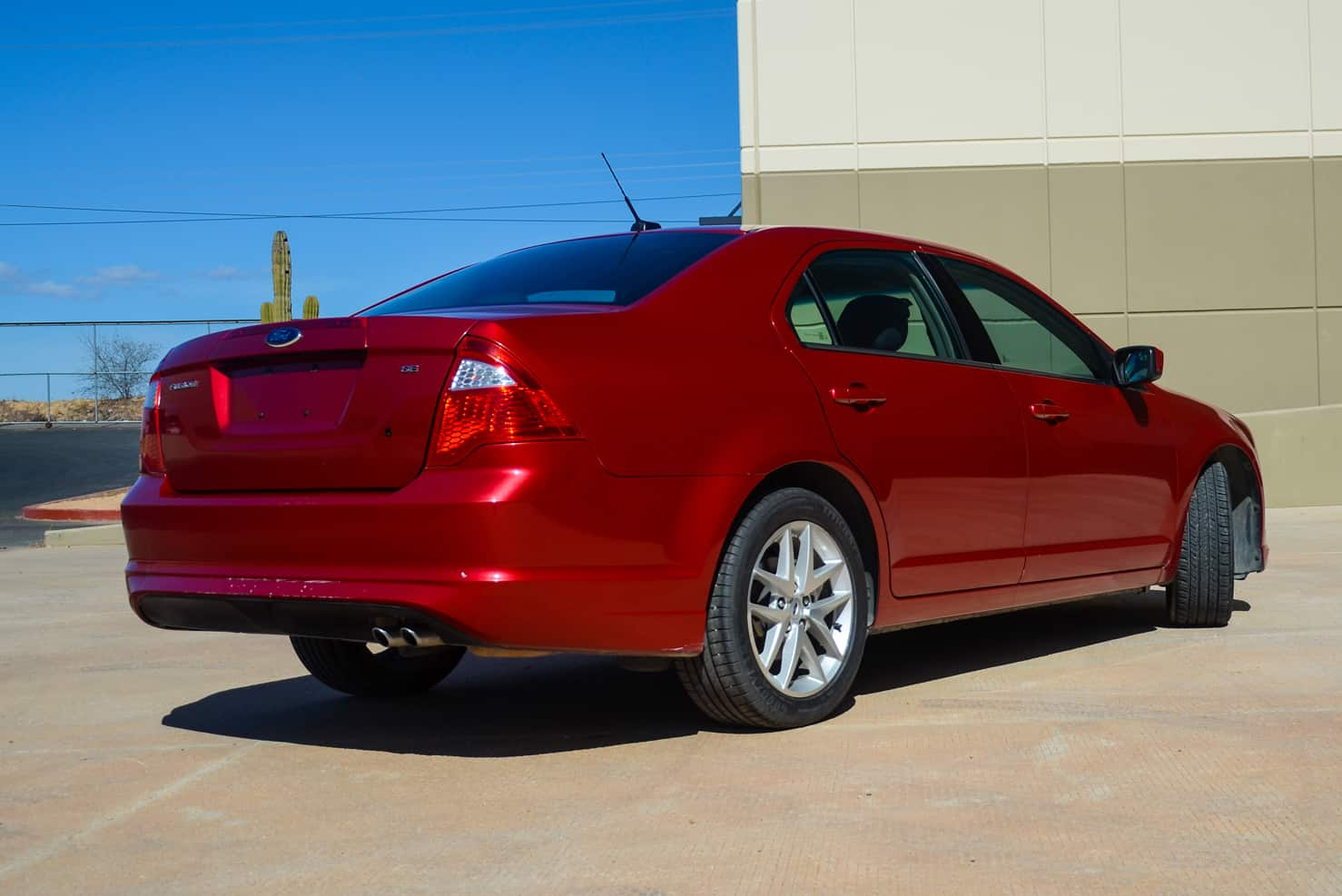 Ford Fusion Mid-Sized Sedan