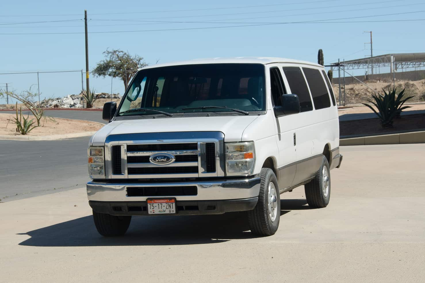 Ford Super Duty Vans 12 to 15 Passengers | BBB Rent a Car Los Cabos Mexico