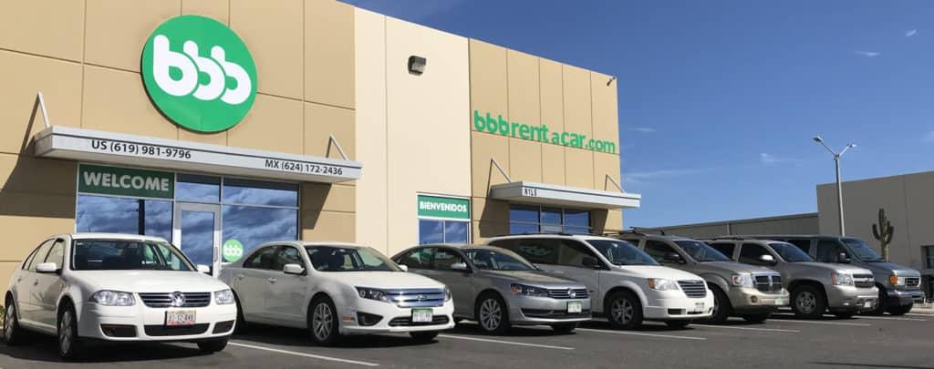 BBB Rent a Car Fleet | Los Cabos, Baja California Sur, Mexico