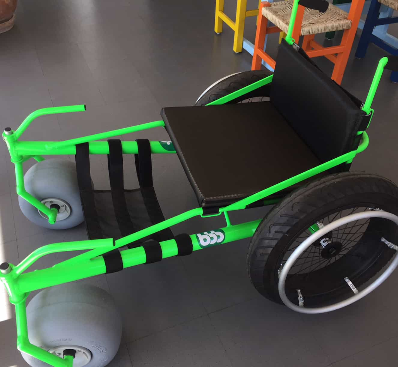 Sand Wheelchair | BBB Rent a Car Los Cabos